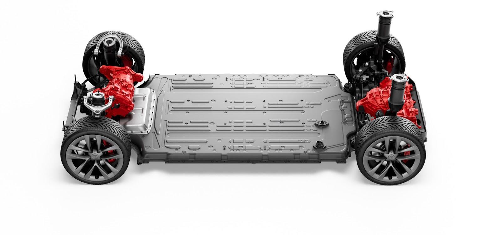 Baterias ainda são o principal custo na fabricação de carros elétricos. (Fonte: Tesla/Divulgação)