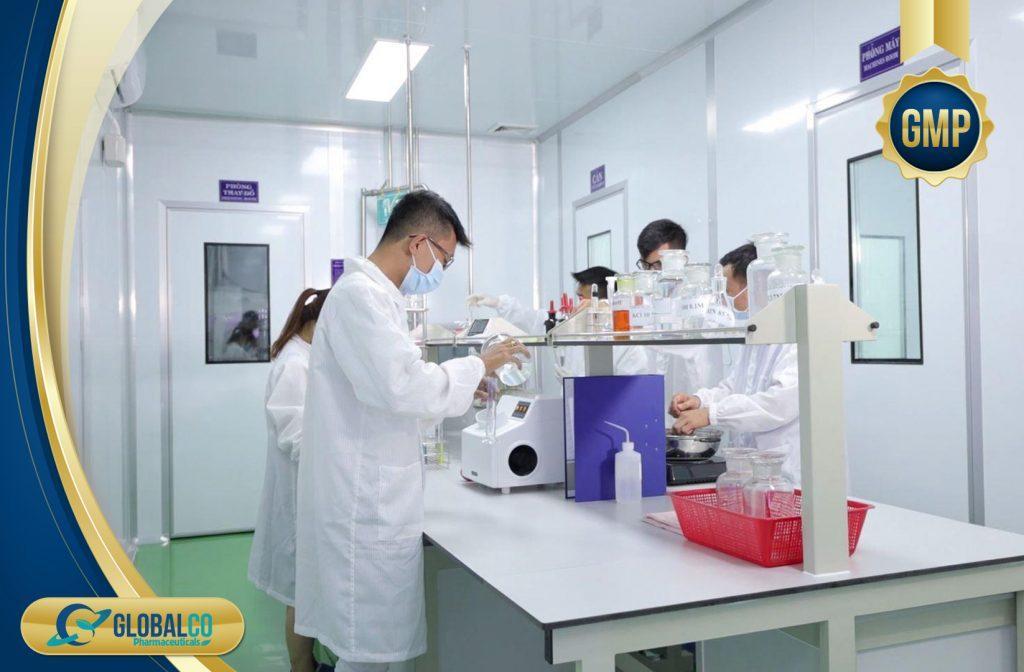 Tìm hiểu quy trình sản xuất thực phẩm chức năng tại Global Hi Tech