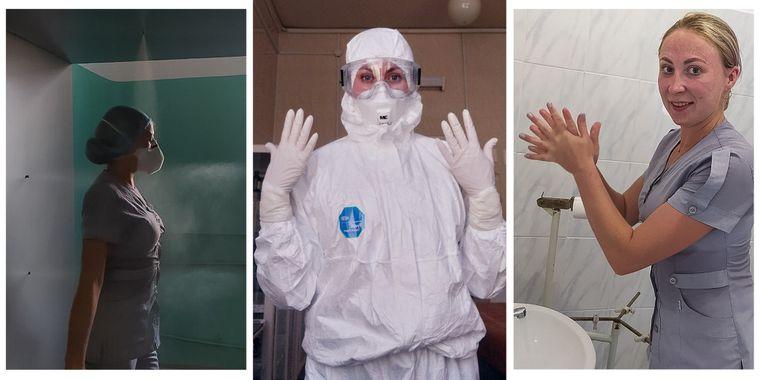 «Из палат мы выходим мокрые, нашу рабочую одежду под защитным костюмом можно выкручивать»