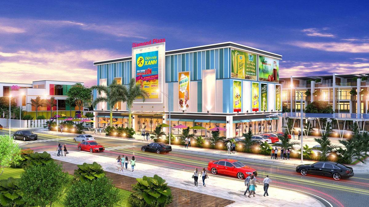 Trung tâm thương mại quận 1 Diamond Plaza Shopping Center