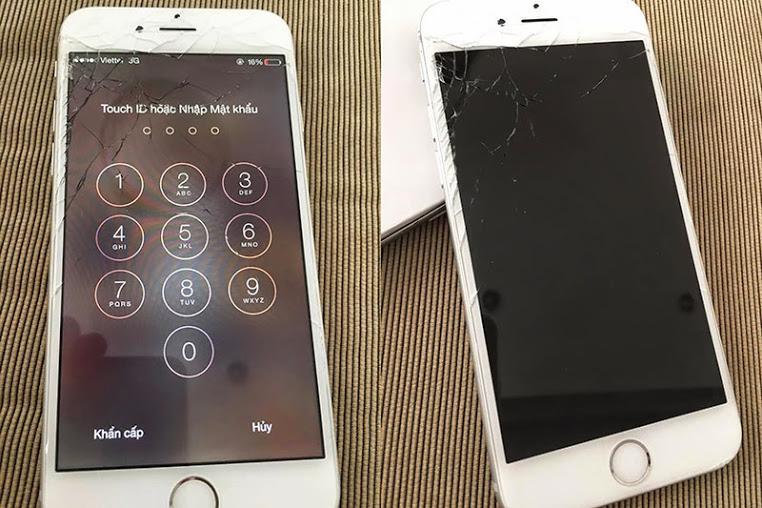 Bao nhiêu để thay màn hình Iphone 6 bị bể