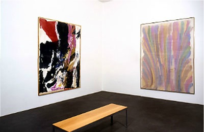 Image result for When did Morris Louis start his first painting