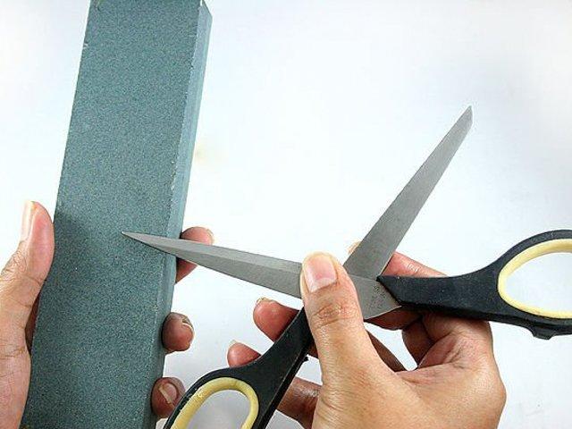 Подготовка ножниц к заточке