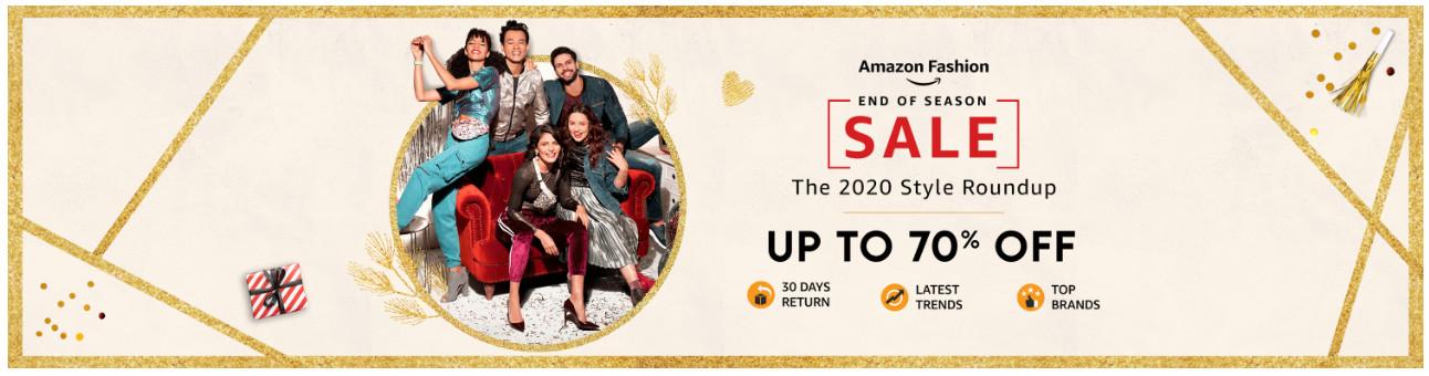 Amazon End of Season Sale offers