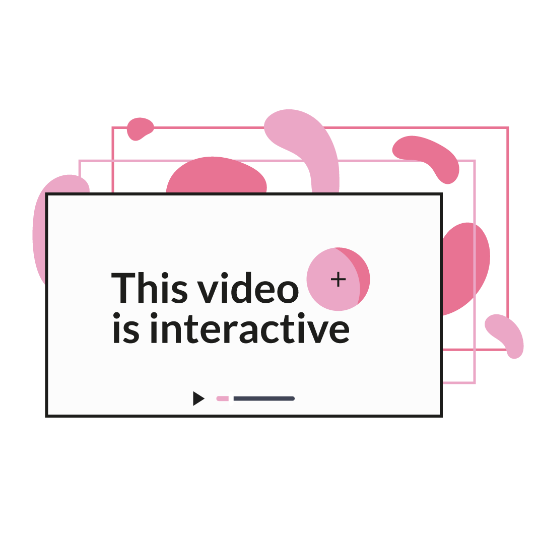 """Slate at the beginning with text e.g. """"this video is interactive! - click to find out more"""""""