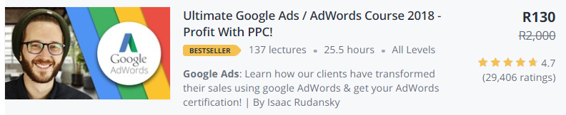Ultimate Google Ads by Isaac Rudansky