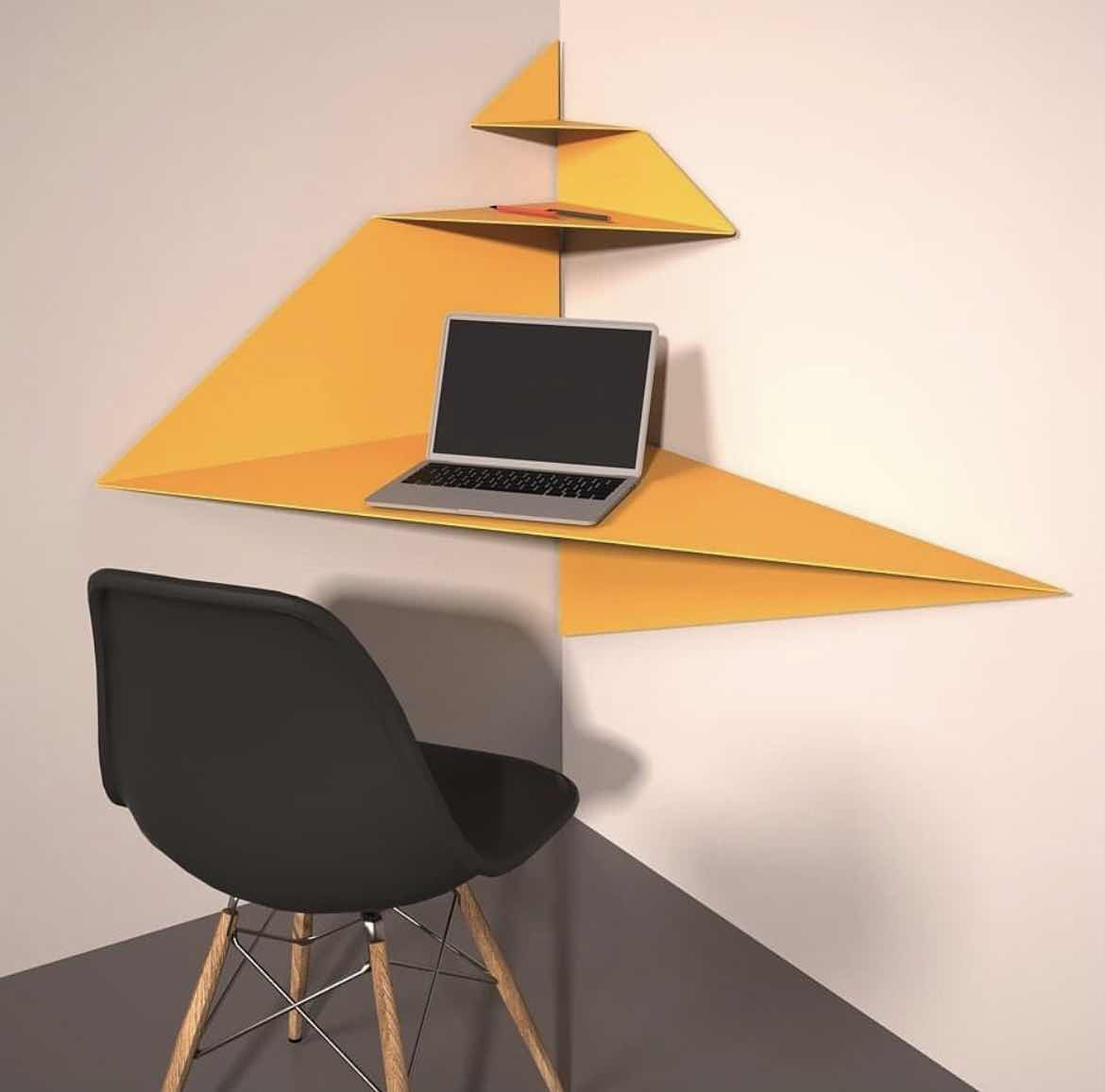 Sculptural Desk Design