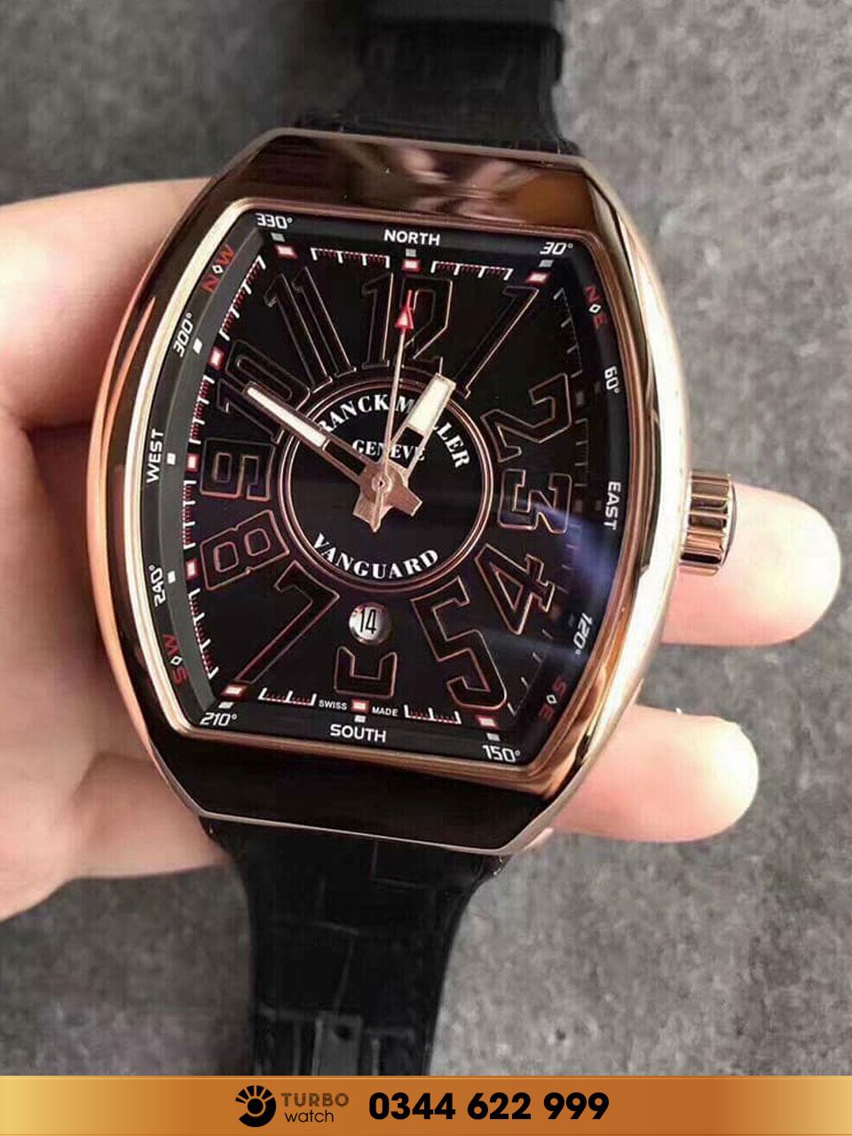 Franck Muller là một thương hiệu đồng hồ được sáng lập vào năm 1991