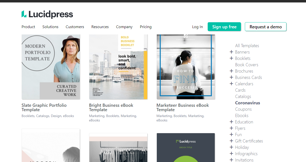 Lucidpress – brand templating platform that also lets you create ebooks.