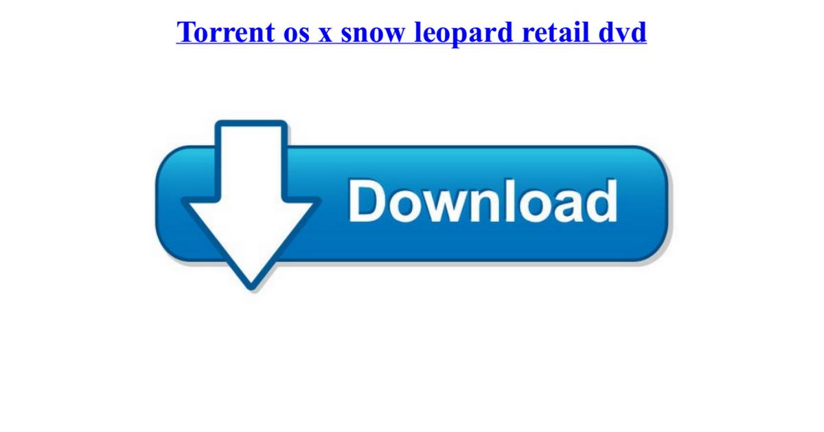 snow leopord torrent