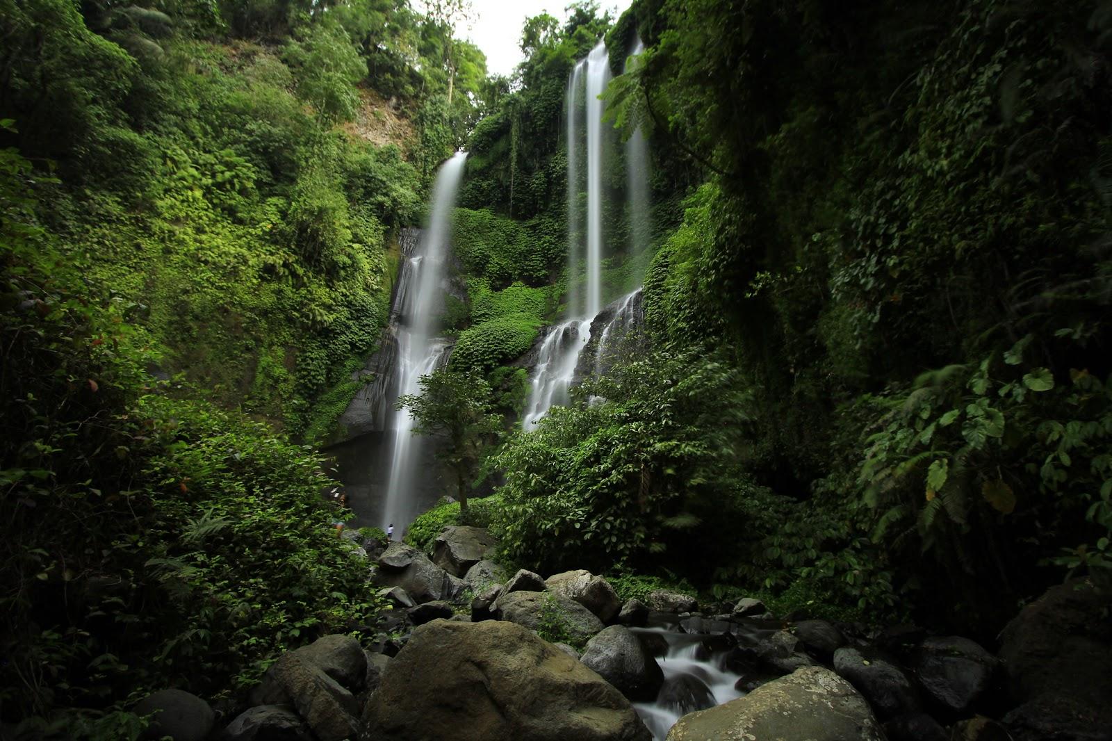 Sekumpul Waterfall is one of the most beautiful waterfalls in Bali