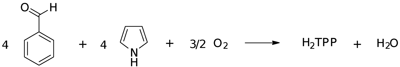 formation of benzaldehyde