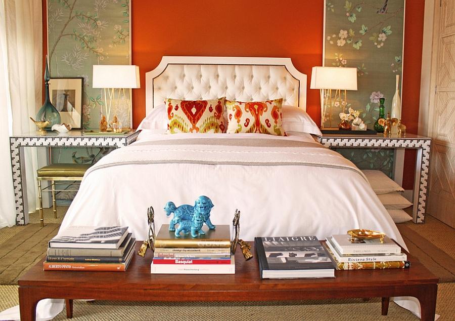 Desain eclectic umumnya tidak berpaku pada suatu focal point tertentu, melainkan keselarasan antar furnitur dan aksesoris - source: decozilla.com