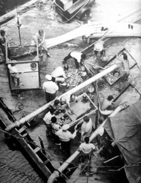fotos del robo al cenote sagrado de chichen itza
