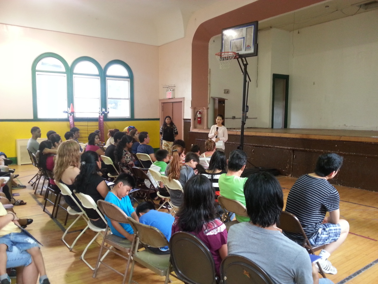 Tsui Yee of Guerrero-Yee LP presented a Deferred Action workshop to undocumented youth and parents.