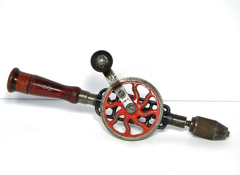 Millers Falls Eggbeater hand drill