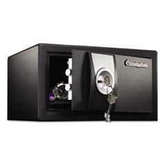 Sentry Safe X031: Security Safe,.35 Ft3, 11 1/2 x 10 1/2 x 6 5/8, Black