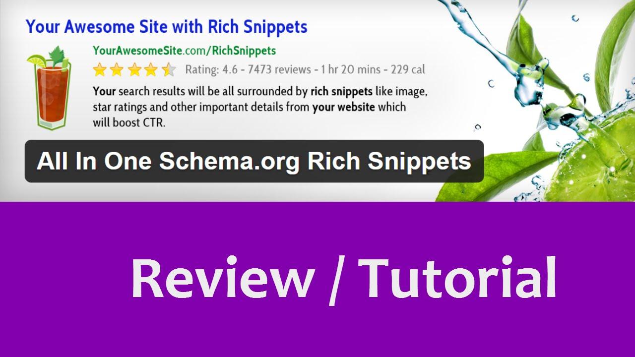 6 Plugin Rich Snippet untuk Meningkatkan Traffic Organic: All in One Schema.org Rich Snippets