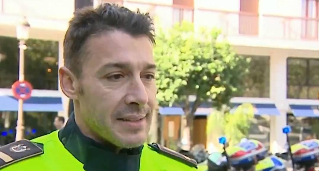 Ladrones se topan con un policía campeón de las olimpiadas