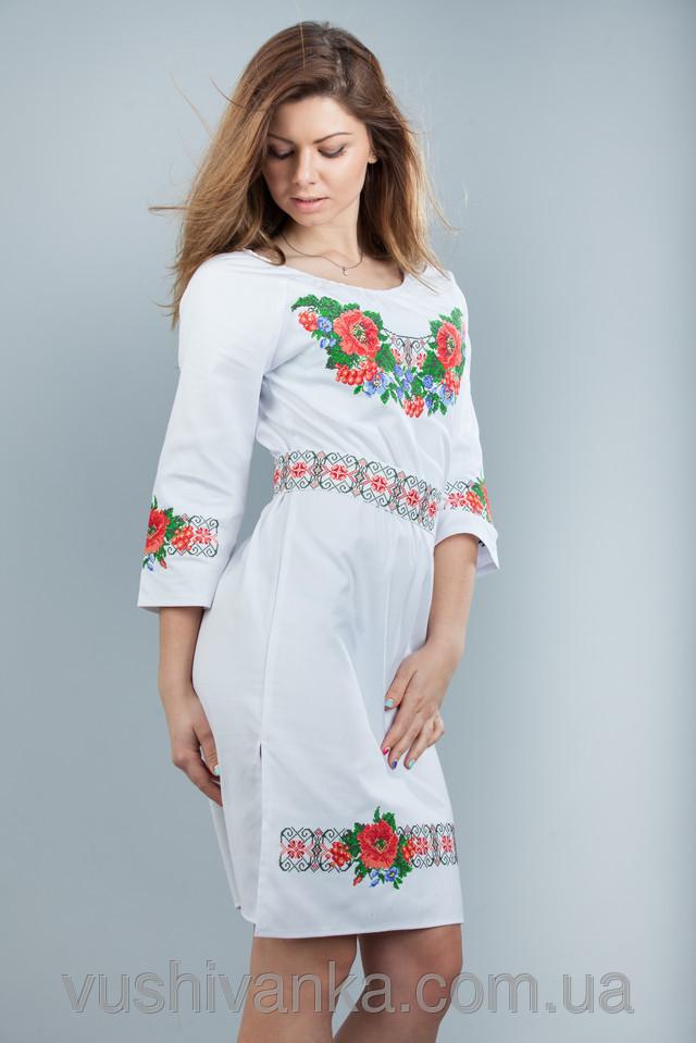 украинские платья вышиванки фото