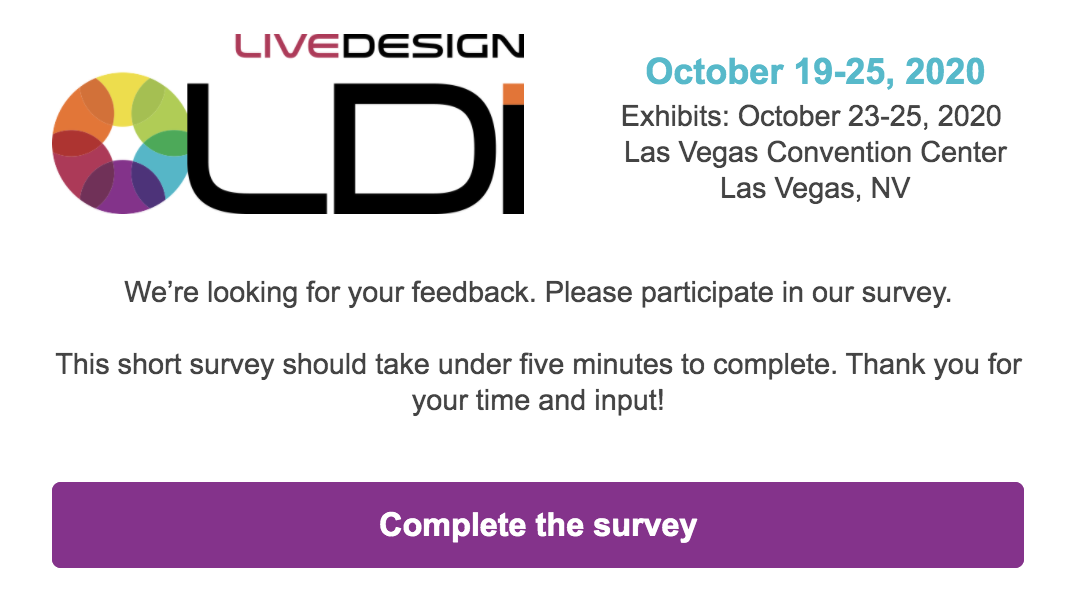 customer voice survey example