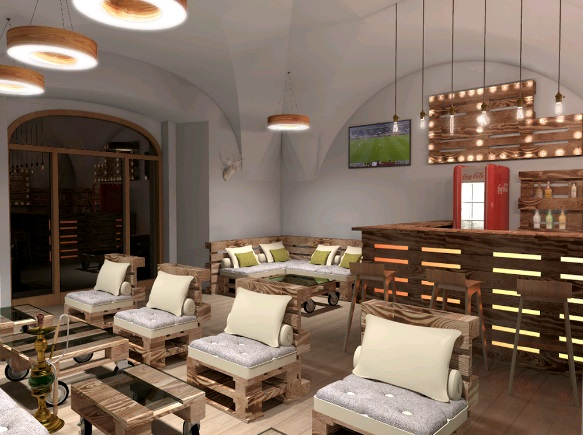 WoodHouse Lounge Ovocný trh