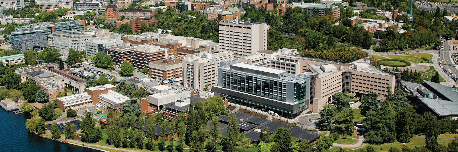 UW Medical Center photo from above.