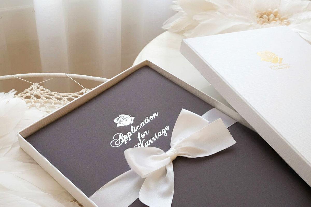 客製化結婚書約 訂製結婚書約 精裝 燙字
