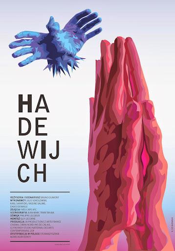 Polski plakat filmu 'Hadewijch'