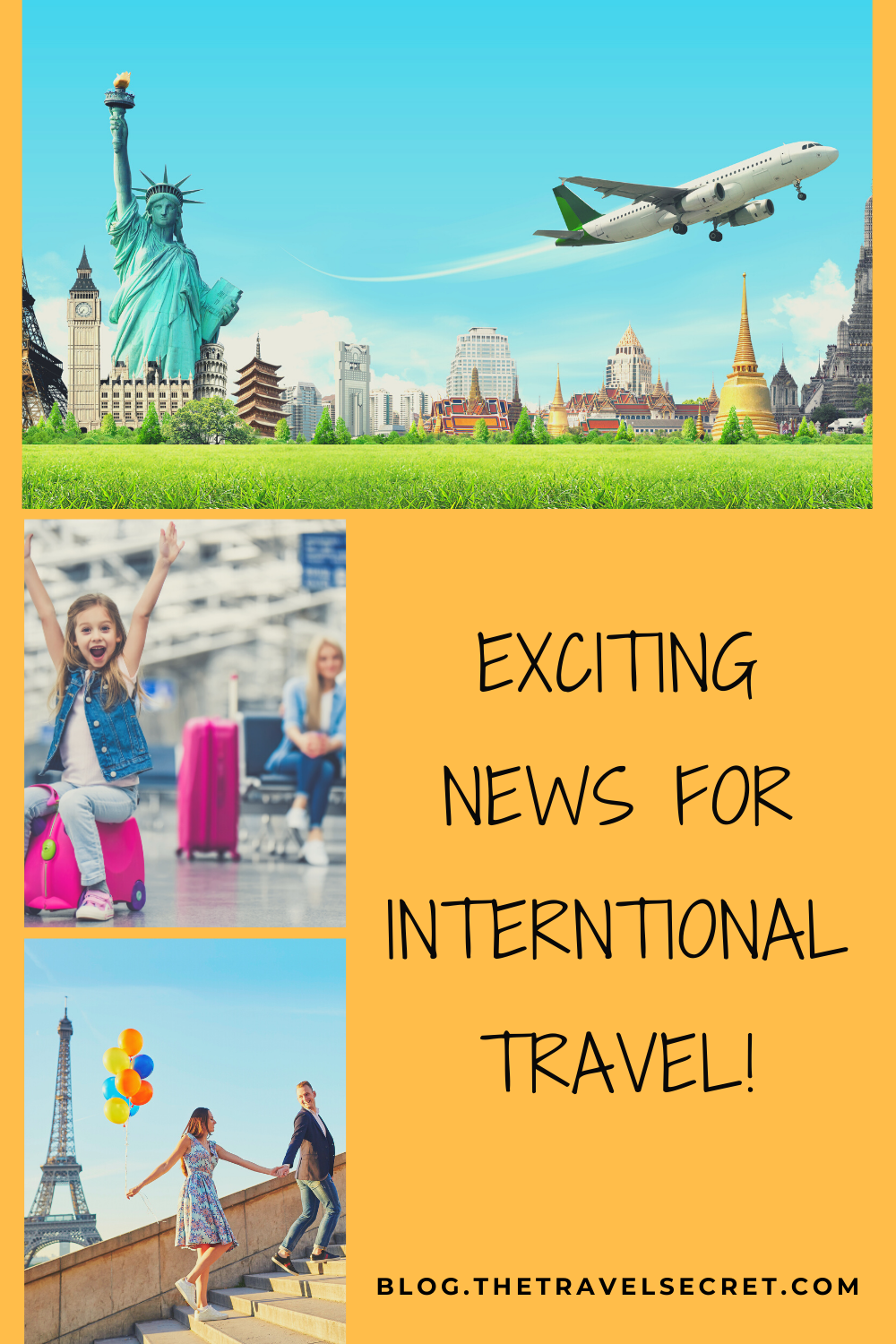 Exciting News for International Travel