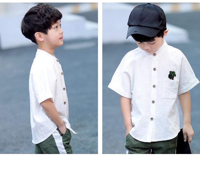 30+ modnych koszule młodzieżowe chłopięce białe wizytowe  VBb7K