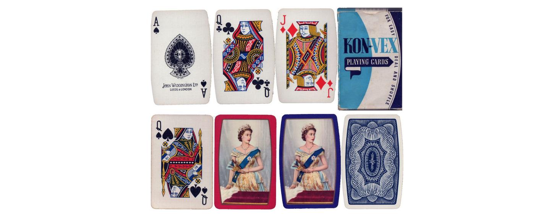 Barrel-shaped cards