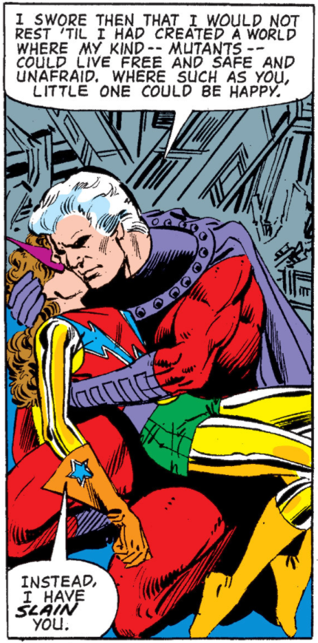 Magneto and Kitty