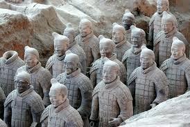 Terracottaleger, aardewerk uit China