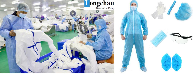 Quần áo bảo hộ y tế hỗ trợ phòng dịch hiệu quả