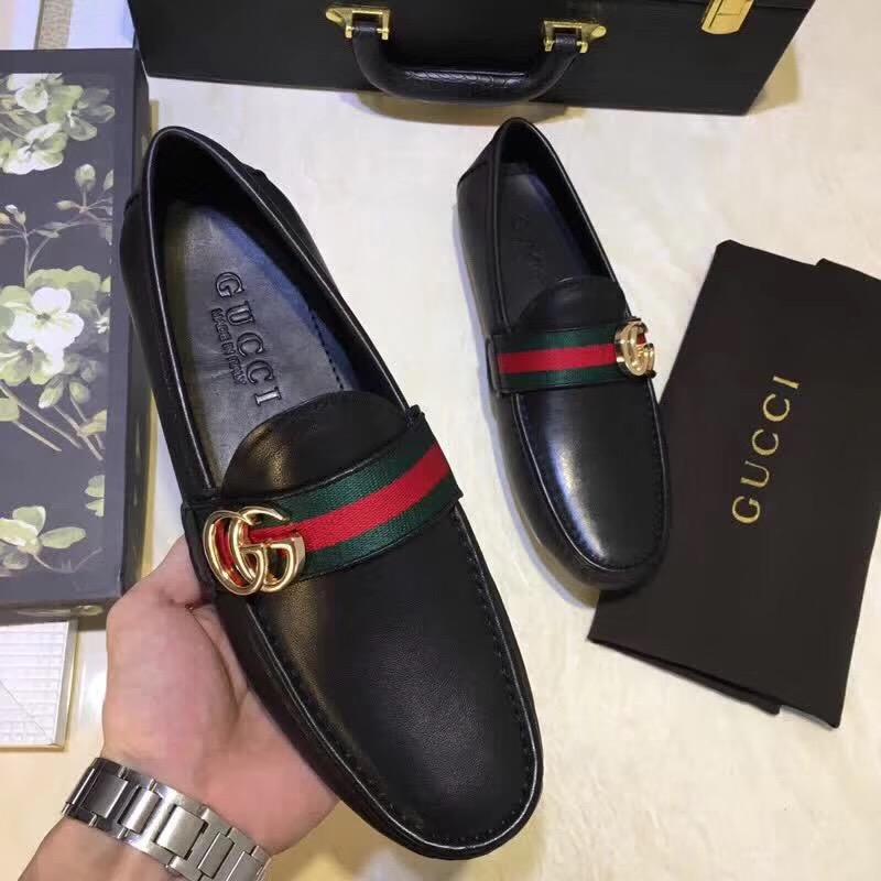 Giày Gucci nam chính hãng được làm bằng chất liệu cao cấp