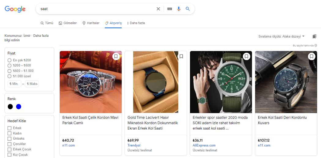alışveriş shopping reklam kampanyası google reklam  alışveriş