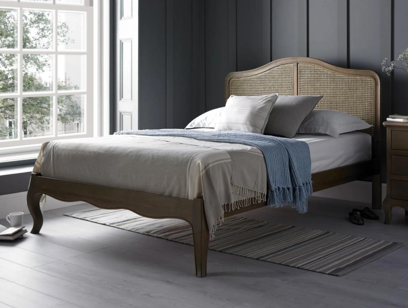 loire rattan bed