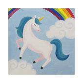 canvas painting design - Unicorn Magic