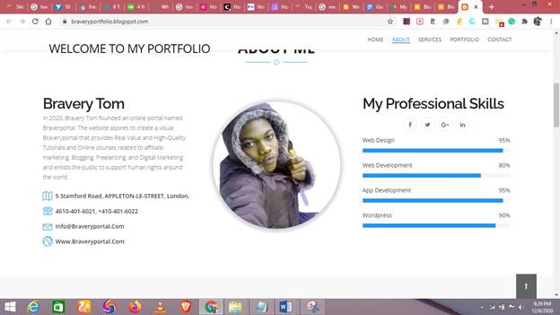 how to create a portfolio for freelance writing