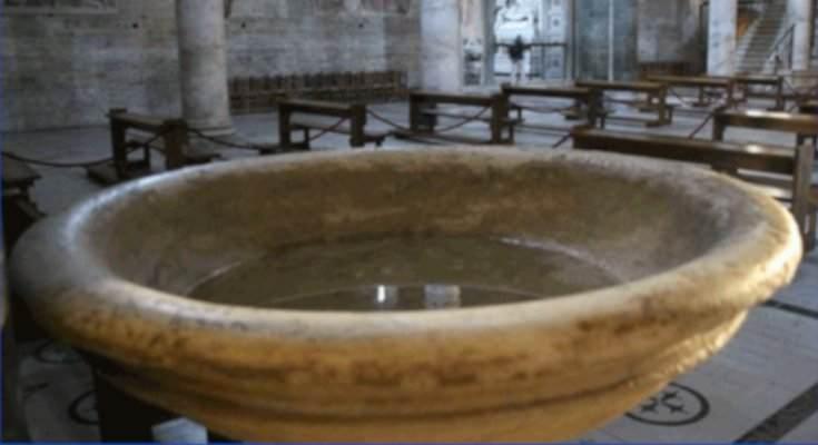 Resultado de imagen de agua bendita
