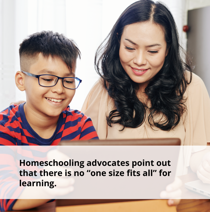 What is Homeschooling? Sometimes One Size does not fit all when it comes to homeschooling.