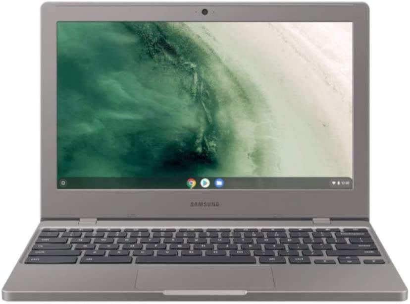 Imagem de notebook da marca Samsung e modelo Chromebook 4