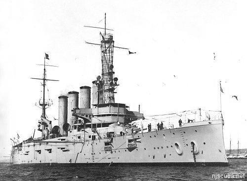 Shipwreck USS San Diego