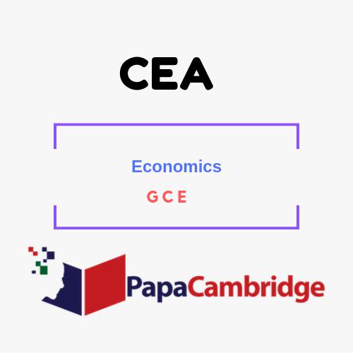 Economics General Certificate of Education PPT Slides