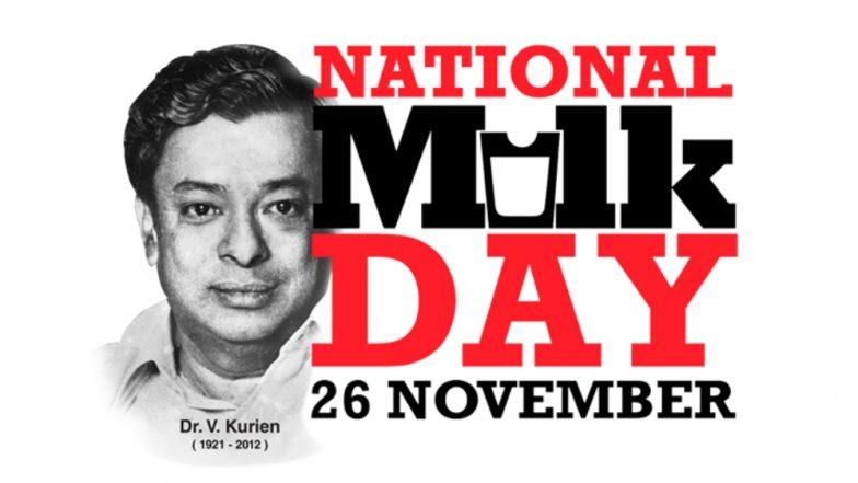 National Milk Day - November 26, 2018