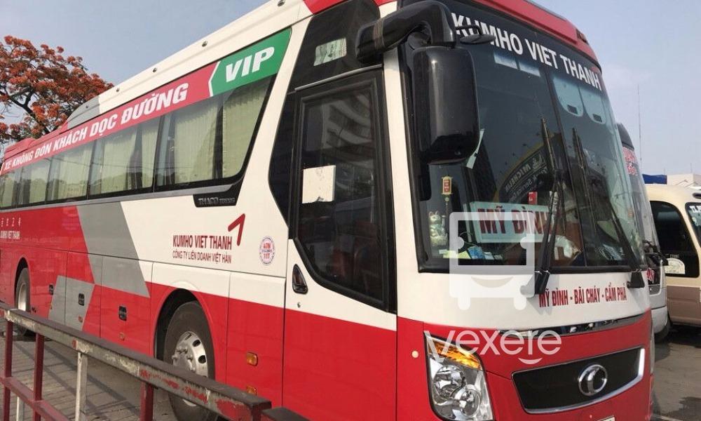 Xe ghế ngồi đi Quảng Ninh không đón khách dọc đường