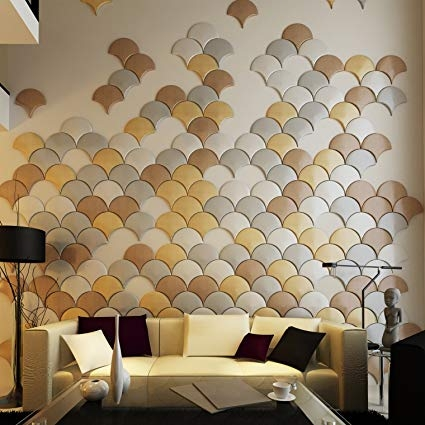 Gạch ốp tường cho không gian sinh hoạt chung