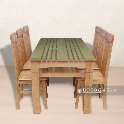 Bàn ăn gỗ Sồi BA065