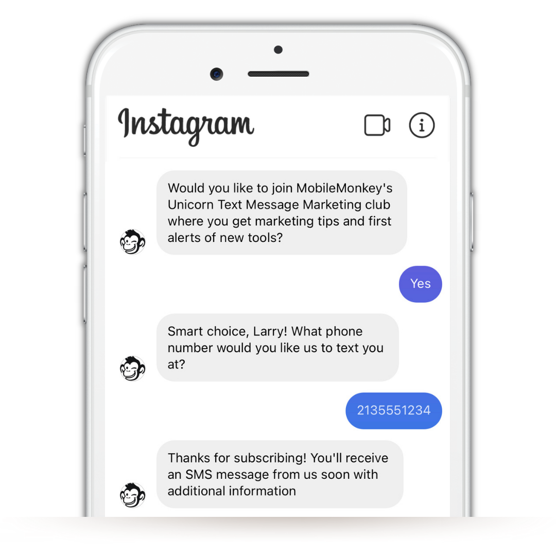 Build and own your contact lists on Instagram